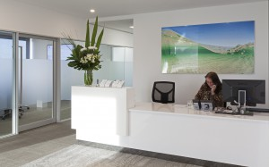 Watkins Tapsell Lawyers Office Foyer with receptionist