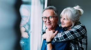Happy Elderly Couple in Retirement Village